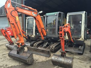 Wood Cheaper Excavators