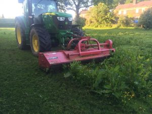 Land Clearance Tractor Cheshire