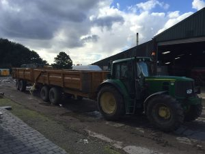Forestry Hire Tractor Merseyside