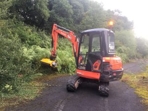 Forestry Hire Excavators